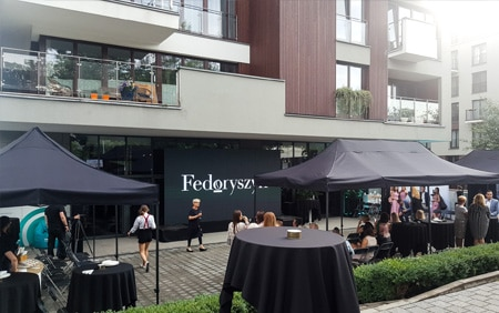 Wynajem namiotów gastronomicznych - DSTagency Wrocław