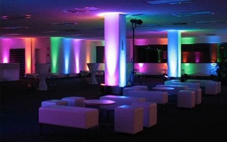 Par LED RGBW - Dekoracja światłem - DSTagency Wrocław