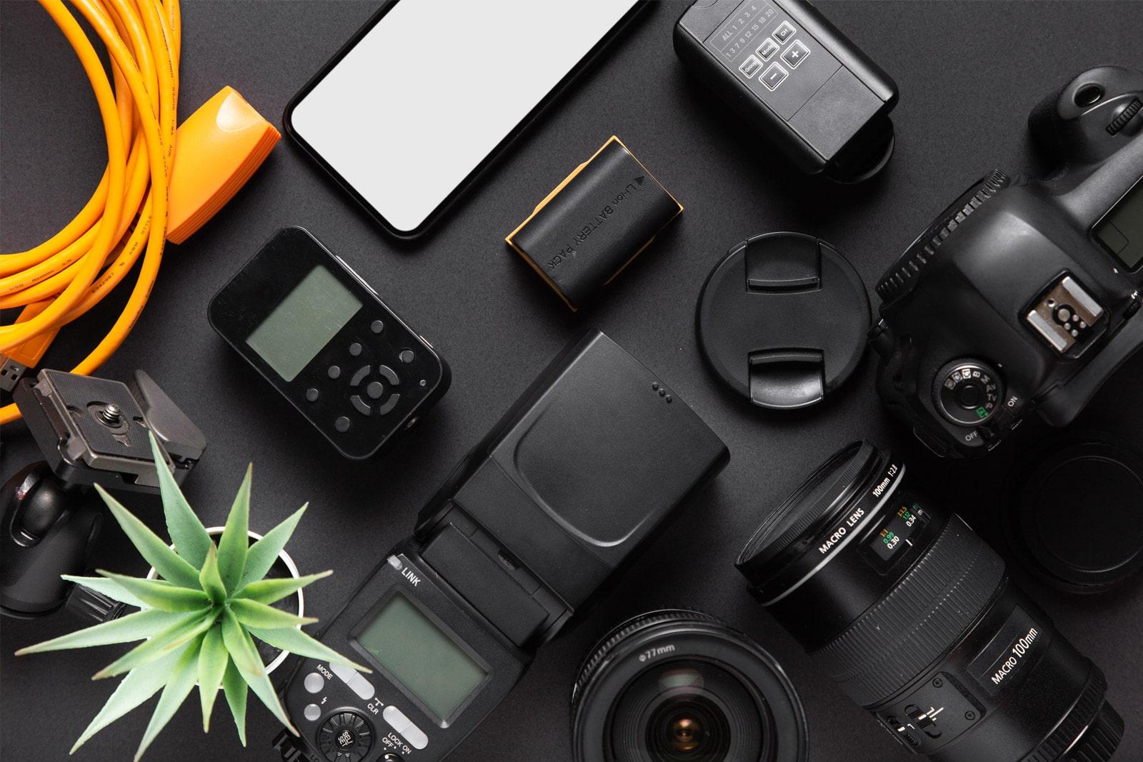 DST Foto studio - Sprzęt gotowy do działania