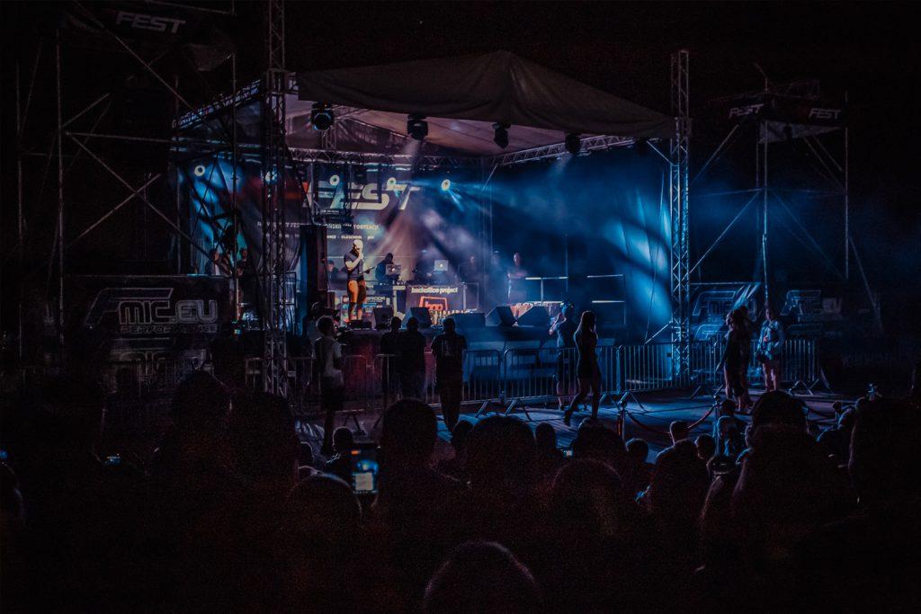JAPFEST - Scena - oświetlenie nagłośnienie DSTagency.pl